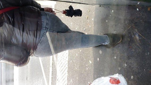 پیرمردی دختری با قد بلند حشری دات کام مقعد آموزش دیده است